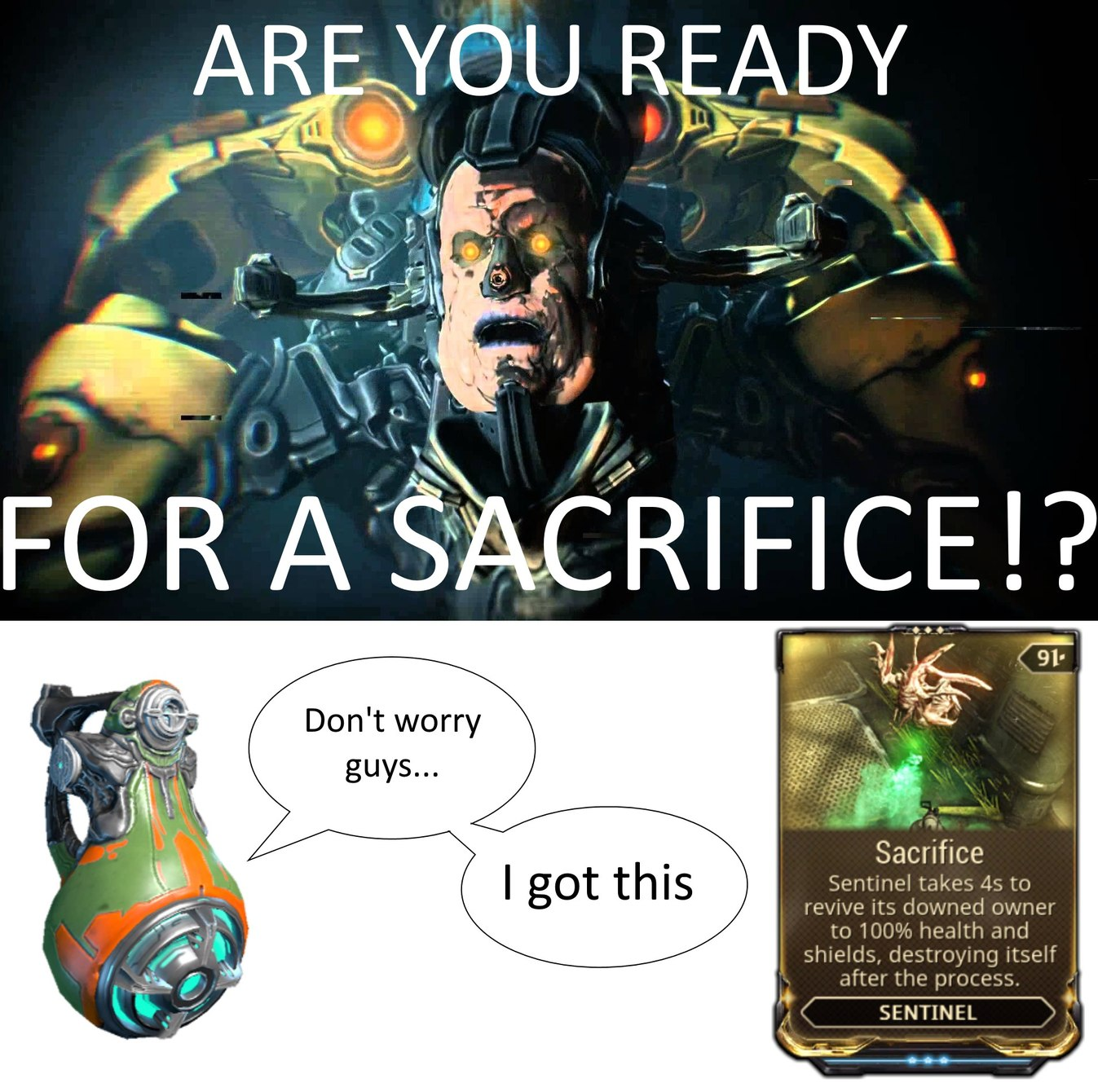 What Are Some Of Warframe S Most Memeable Lines Quotes Dialogue