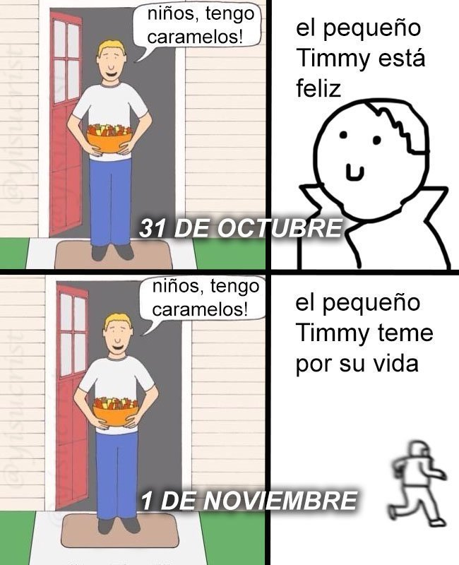 memes de Halloween