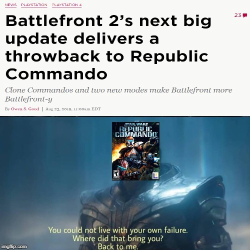 Star Wars Battlefront Memes Star Wars Amino