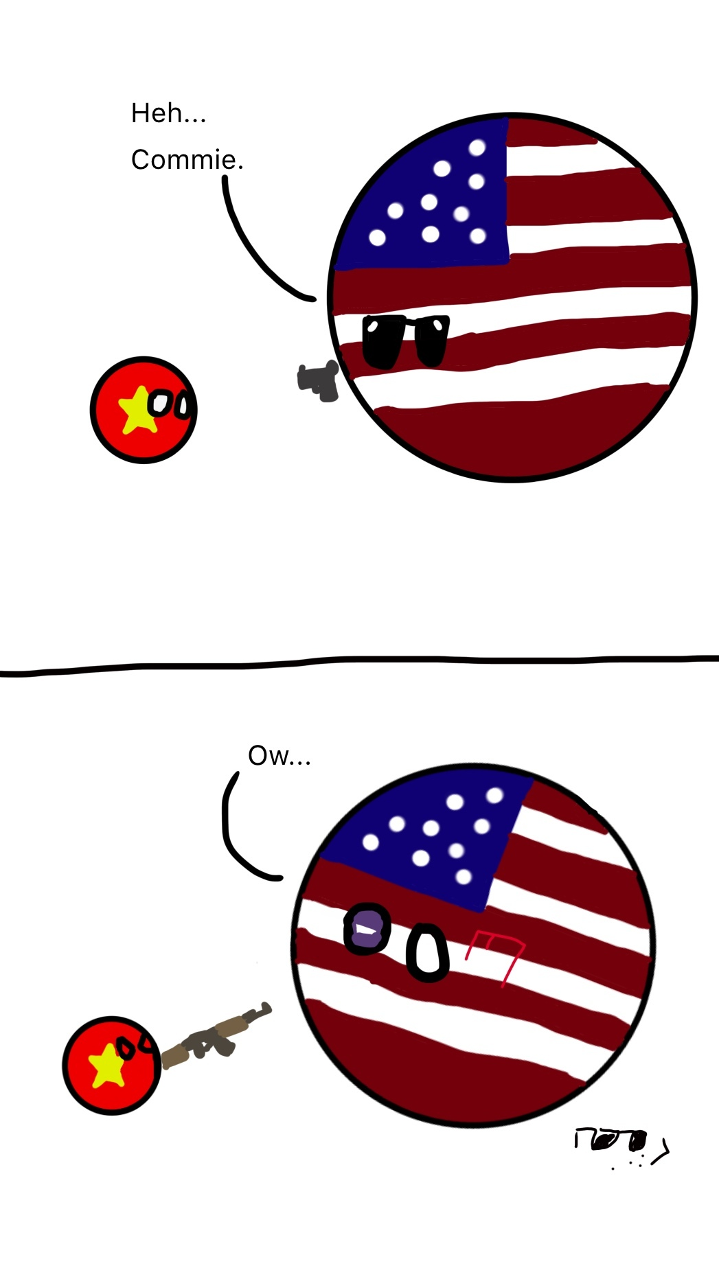 Wise Spending Uk Usa By Glitchy Shadow 137 Polandball
