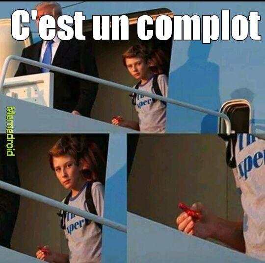 MÊME LE FILS DE TRUMP #COMPLOT