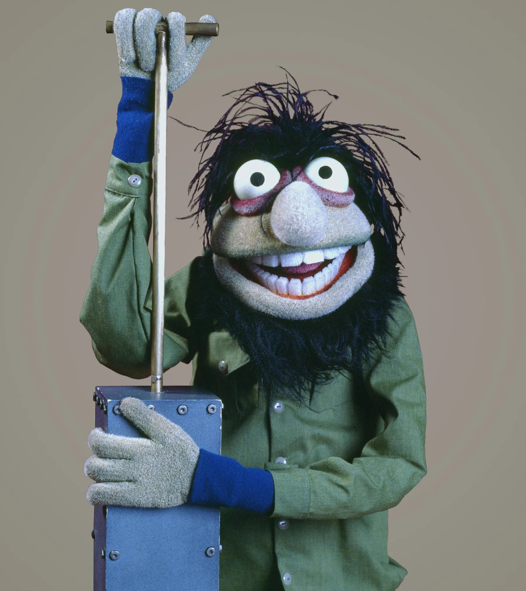 crazy harry muppet
