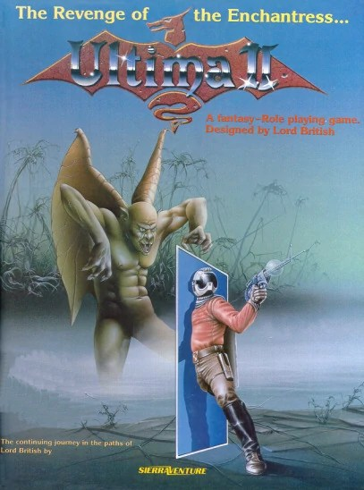 Ultima II Cover