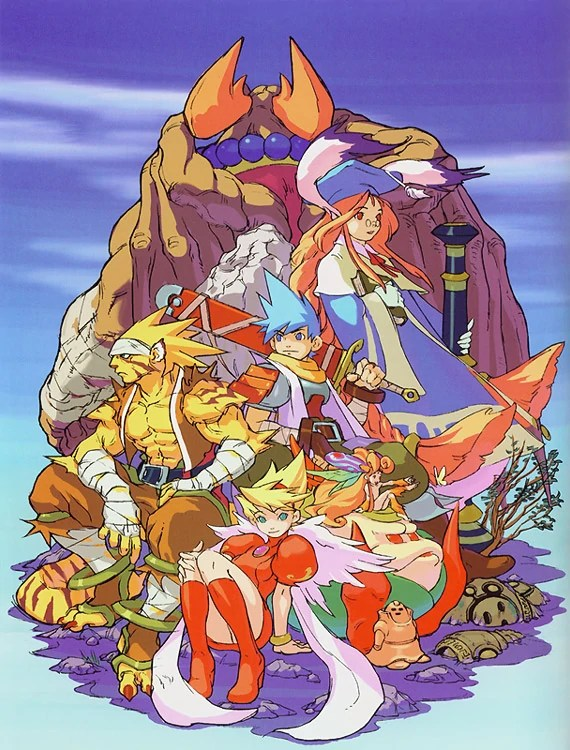 Breath of Fire III cast of characters