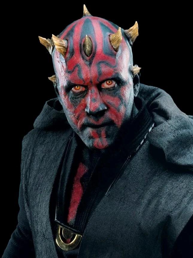 darth maul, sith apprentice, saberstaff, star wars episode I