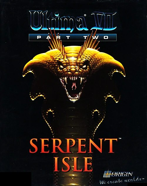 Ultima VII Part II Cover