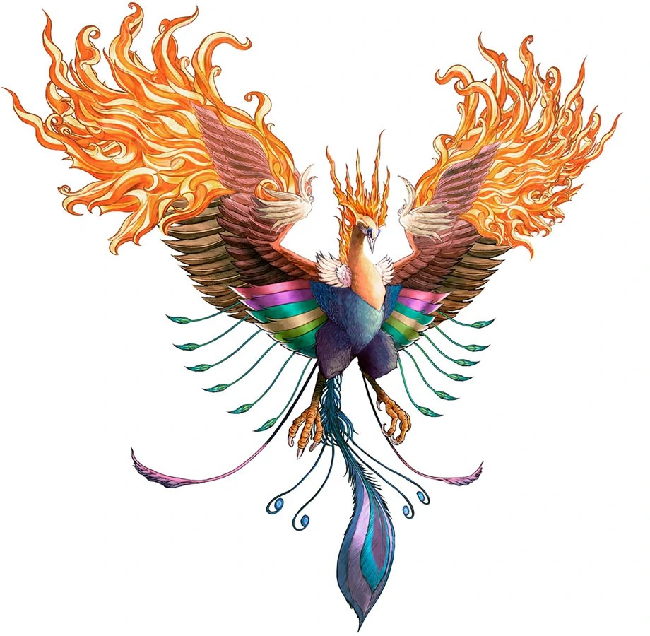 Illustration of Legendary Phoenix