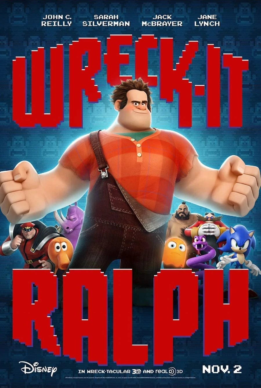 Wreck It Ralph (2012) Movie Review