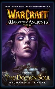 Book 2 cover (features Tyrande and Broxigar)