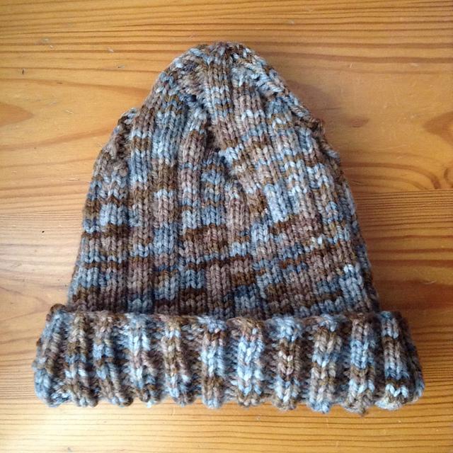 patron gratuit tricot bonnet adulte