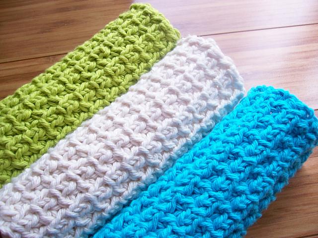 Wednesday Pattern Spotlight: Dishcloths! – Crafting At The Helm