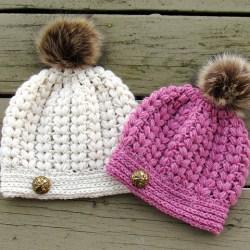 af881598d3c Ravelry  Pearl Puff Stitch Beanie Pattern By Crochetdreamz