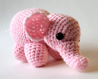 Cute crocheted elephant