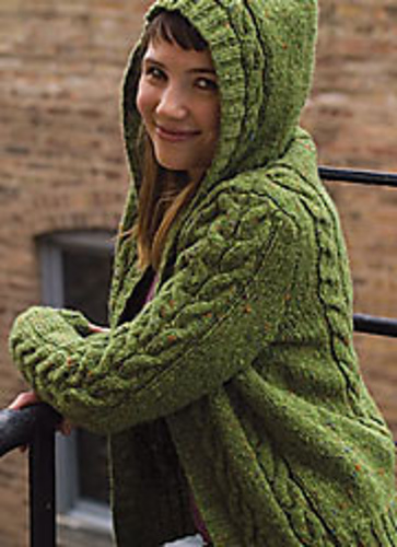 Central Park Hoodie Knitting Pattern Free : This is me not knitting: Draakjesvest. MarvelKnits, reasoning with wool