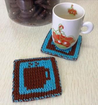 10 Free Knitting Coaster Patterns Crafty Tutorials