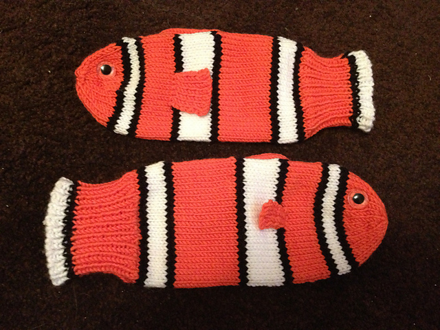 Nemo mittens