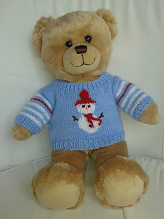 Ravelry Teddy Bear Christmas Sweaters Pattern By Linda Mary