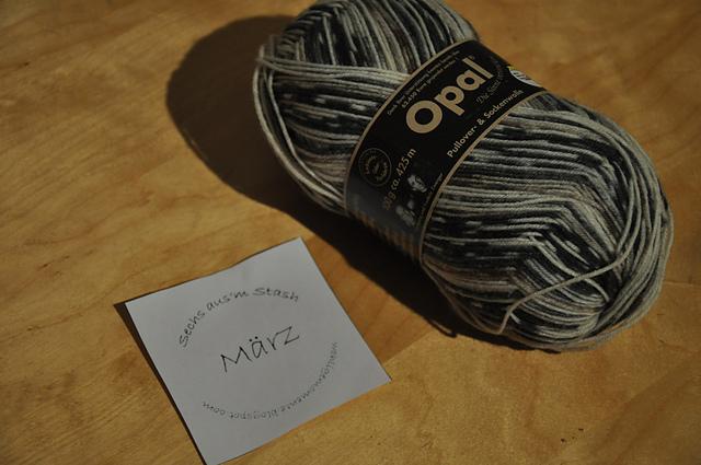 Opal Sockenwolle Regenwald Sammy Gipfelstürmer - März-April Projekt 6 aus'm Stash
