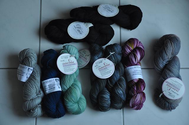 4 ausm stash 2014 wollauswahl zauberwiese drachenwolle drops lace sockenwolle merino