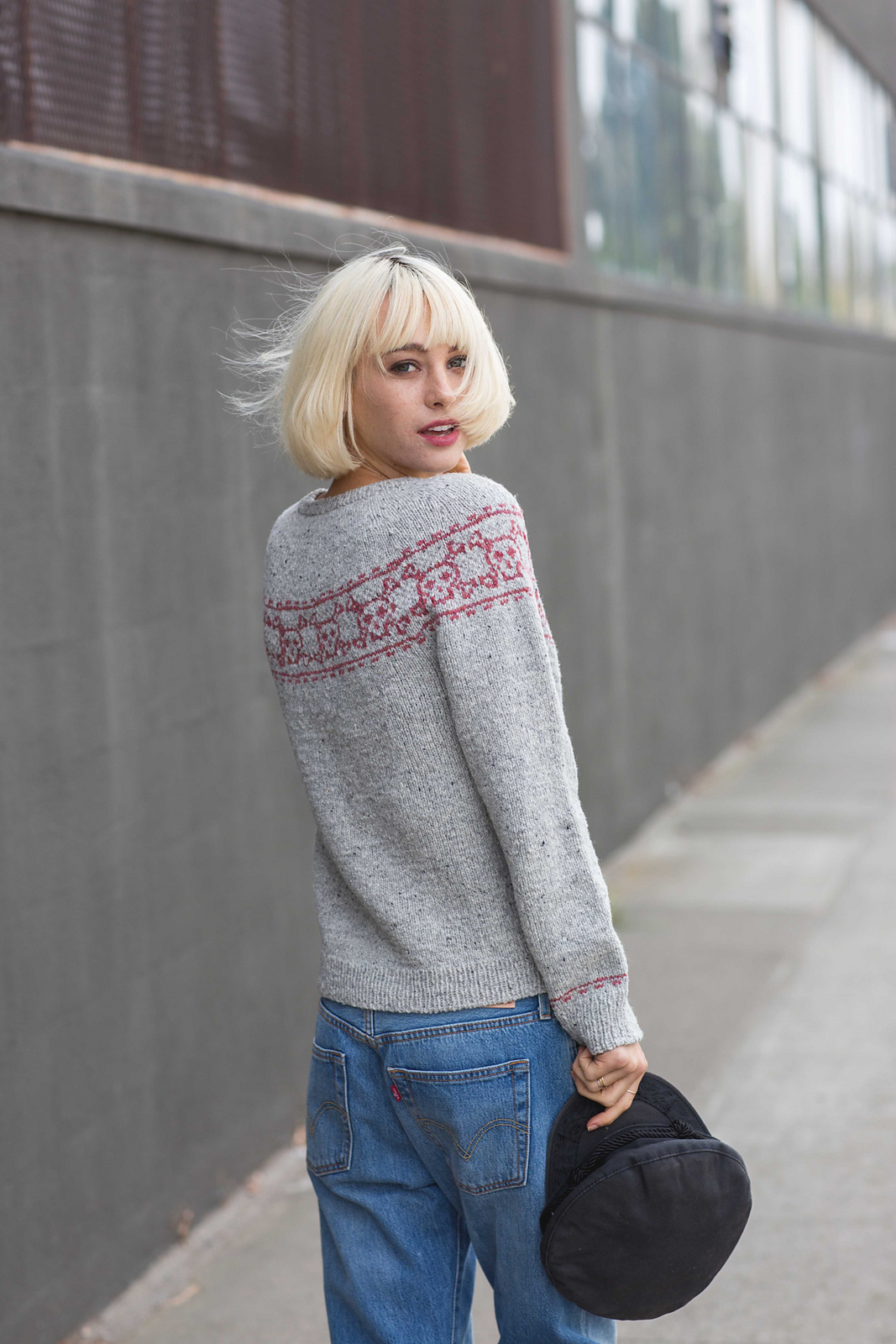 Skull & Bones Pullover by Andrea Rangel from AlterKnit Stitch Dictionary