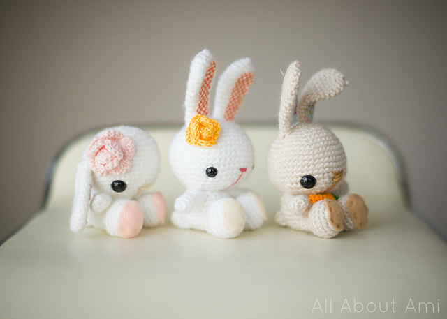 crochet free rabbit toy pattern