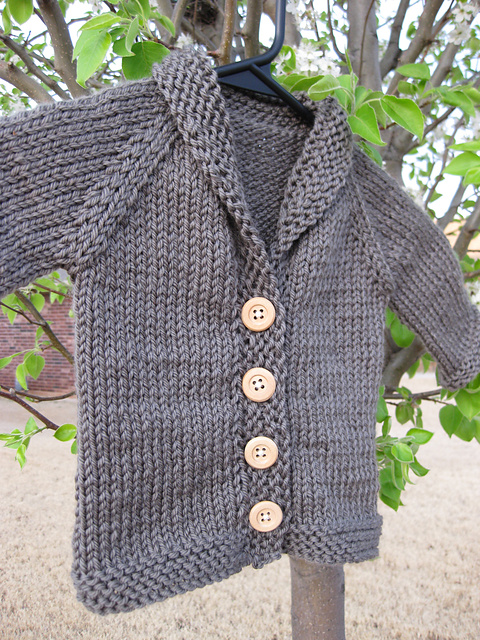 Baby Sophisticate Cardigan Linden Down