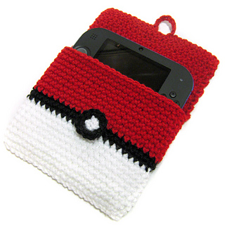 DS pokeball cozy to crochet