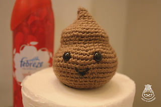 Crocheted Poo free pattern