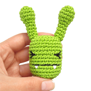 Cute easy monster to crochet