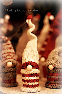Tiny Gnomes via Ravelry