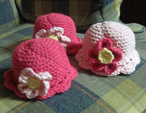 15 Free Preemie Hat Crochet Patterns - Crafty Tutorials