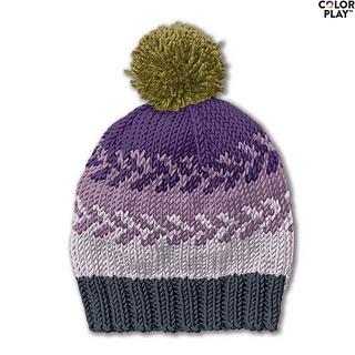 Ravelry Fair Isle Knit Hat Pattern By Yarnspirations
