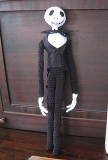Ravelry Jack Skellington Crochet Doll Pattern By Assunta