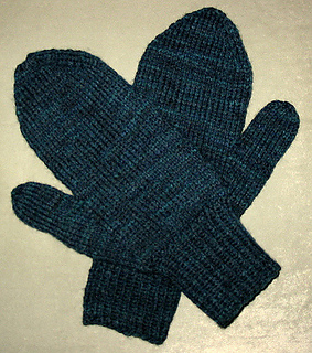 Ravelry Basic Men S Mittens Pattern By Katherine Vaughan