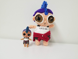 Ravelry Punk Boy Lol Doll Inspired Pattern By Tawny Bee