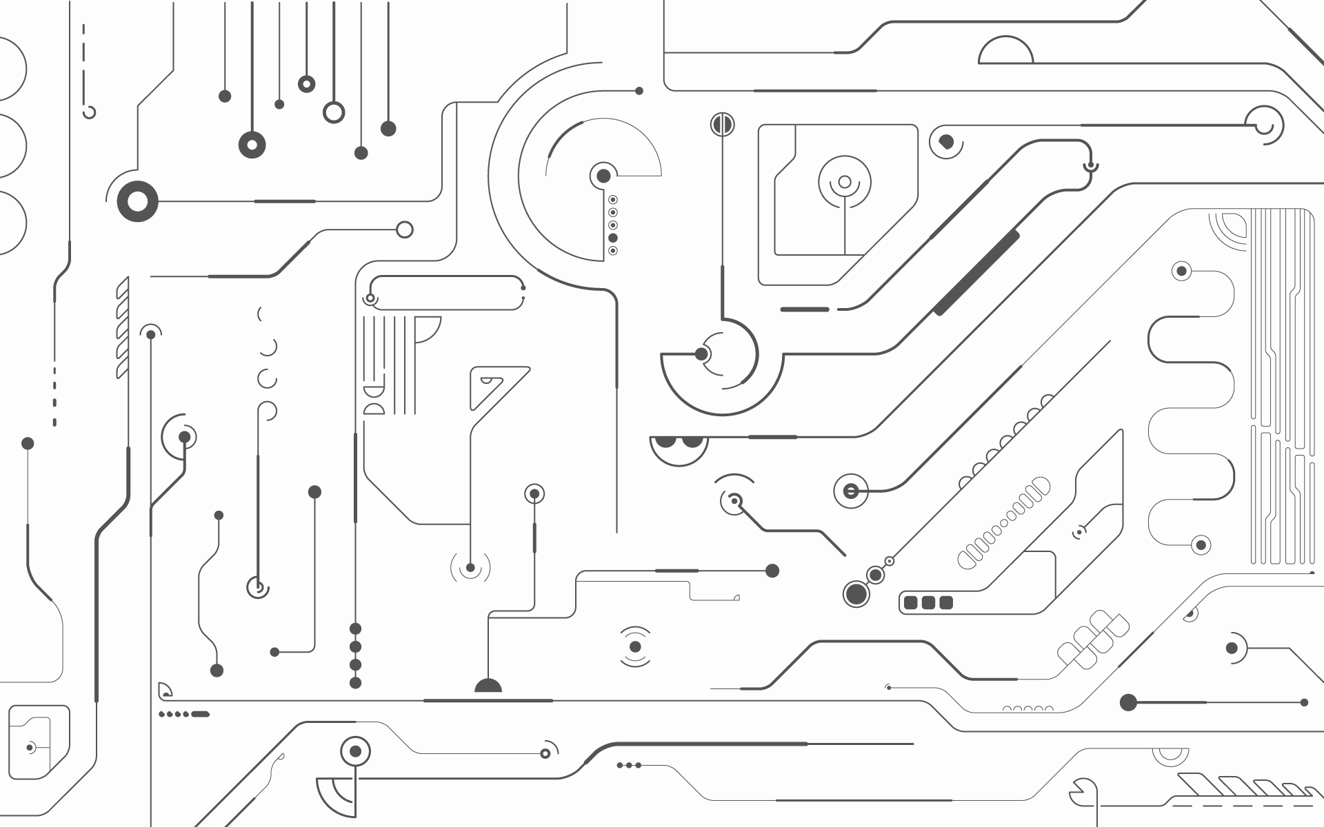 Circuit Hd Wallpaper