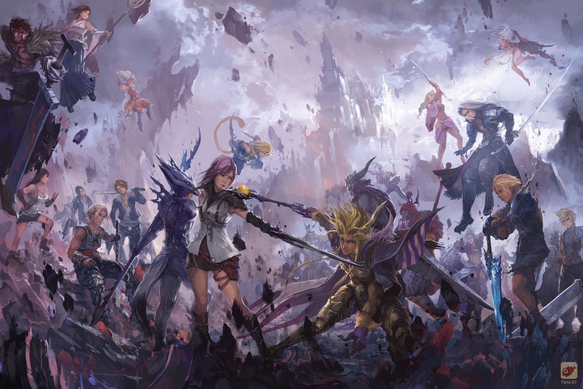 Dissidia 012 Final Fantasy 4k Ultra HD Wallpaper And