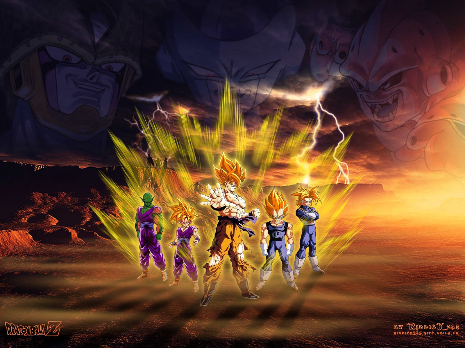 Dragon Ball Z Wallpaper And Background Image