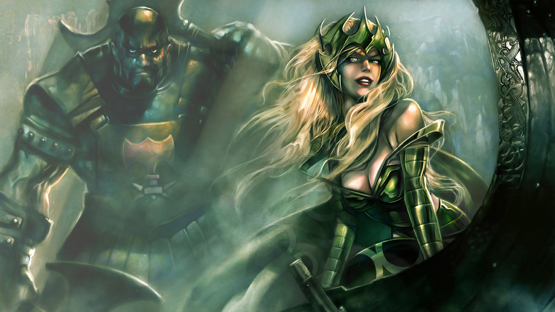 Enchantress HD Wallpaper Background Image 1920x1080 ID88456 Wallpaper Abyss