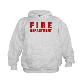 Fire Department Red Kids Hoodies and Tee's Infant, Baby and Youth