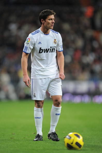 Real Madrid's Xabi Alonso