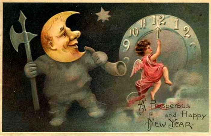 Vintage images Happy New Year wallpaper and background photos  17956624  Vintage images Happy New Year wallpaper and background photos