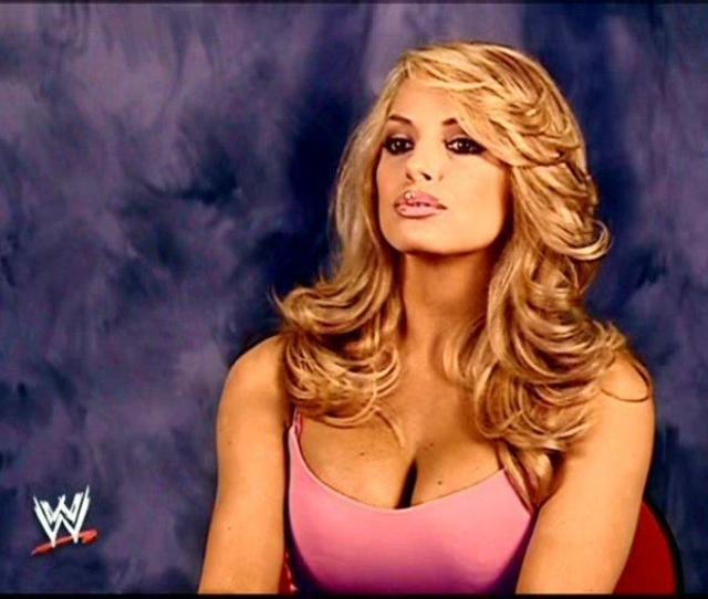 Trish Stratus Images Trish In Pink Hd Wallpaper And Background Photos