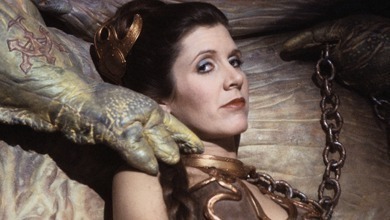Image result for leia against jabba