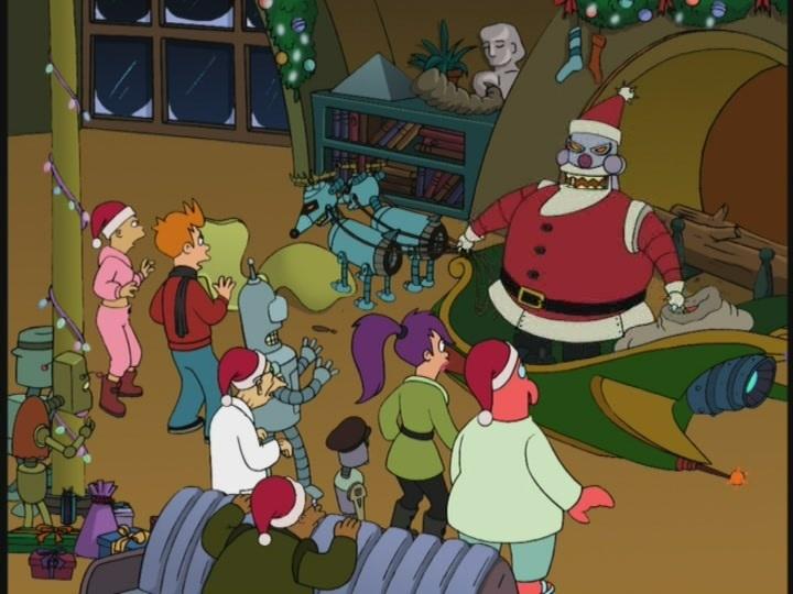 Futurama Christmas Episodes.25 Days Of Christmas Review Futurama The Christmas