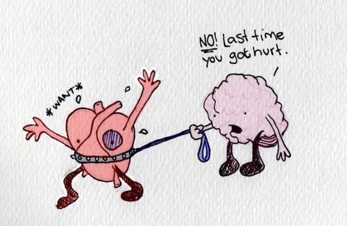heart versus head tough decision