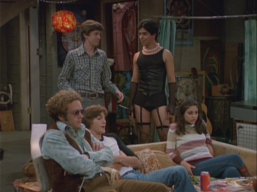 Image result for that 70s show TOO OLD TO TRICK OR TREAT TOO YOUNG TO DIE