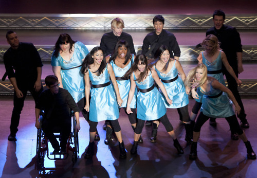 2x16 episode still   - glee photo