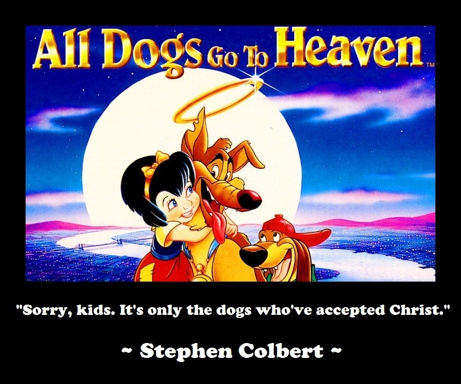 All Dogs Go Heaven Movie Quotes