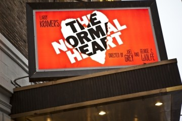 Normal Heart Theater Sign